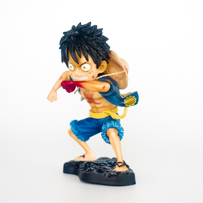 Mô Hình One Piece - Luffy Gear Second Tranformer#3