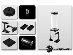 Dual / Single D5 Top Upgrade Kit 150 (Black POM Cap)