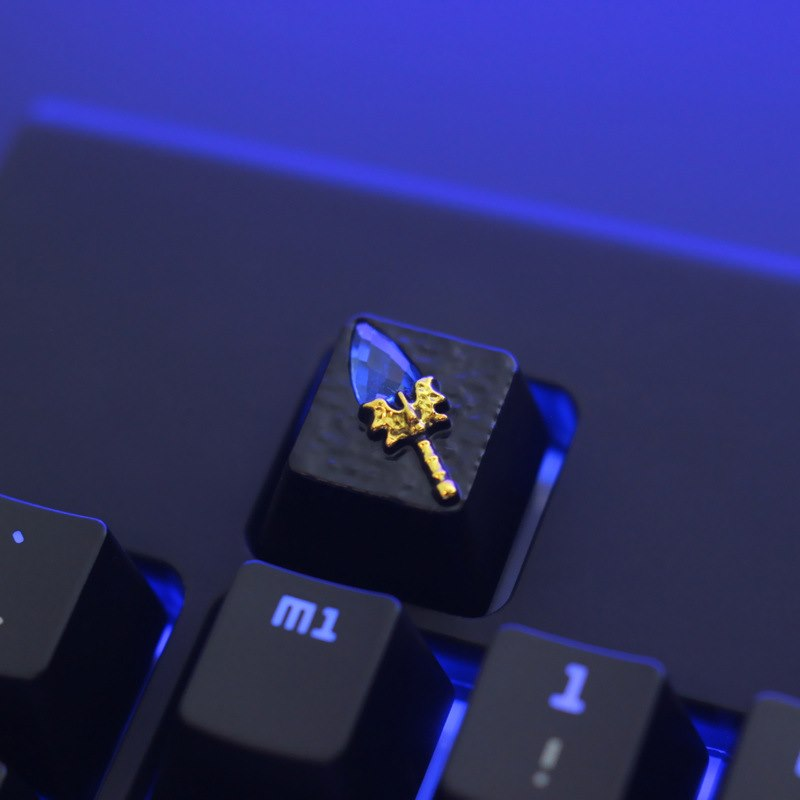 Keycap Diecast Kim Loại - Aghanim's Scepter